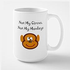 Monkeys Large Mug