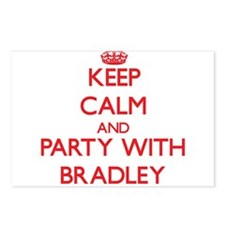 Keep calm and Party with Bradley Postcards (Packag