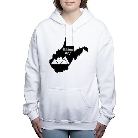 Hiking West Virginia Women's Hooded Sweatshirt
