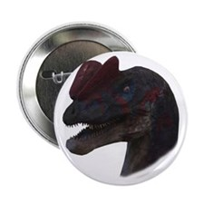 "Dilophosaurus 2.25"" Button"