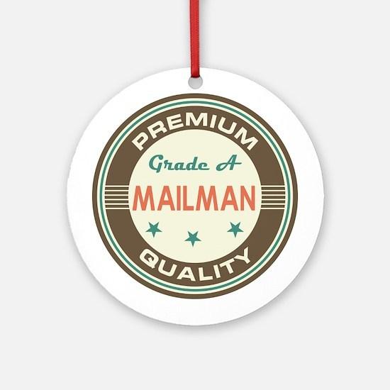 Mailman Vintage Ornament (Round)