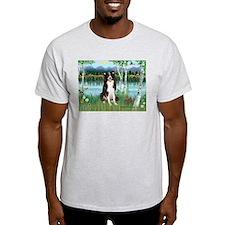 Birches / Border Collie T-Shirt