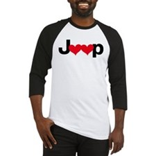 Jeep Love Baseball Jersey