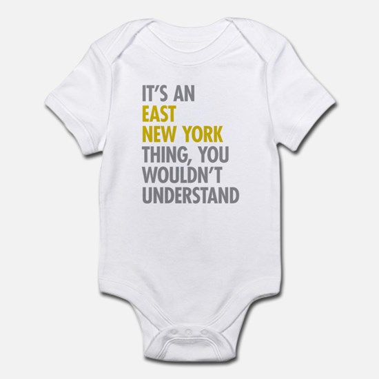 East New York Thing Infant Bodysuit