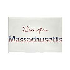 Custom Massachusetts Rectangle Magnet