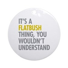 Flatbush Thing Ornament (Round)