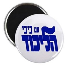 Likud W/bibi! Magnet Magnets