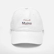 Custom Maine Baseball Baseball Cap