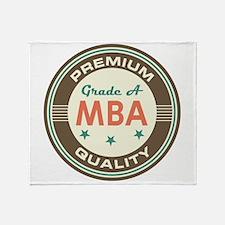 MBA Vintage Throw Blanket