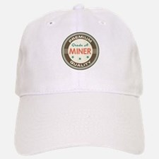 Miner Vintage Baseball Baseball Cap