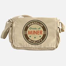 Miner Vintage Messenger Bag