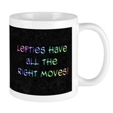Lefties Mooves Blk Coffee Mug Coffee Mugs