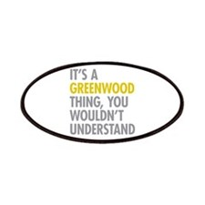 Greenwood Thing Patches