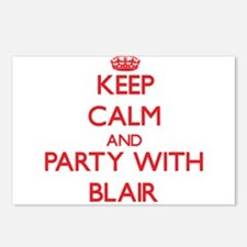 Keep calm and Party with Blair Postcards (Package