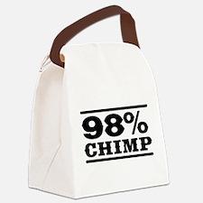 98% Chimp Canvas Lunch Bag