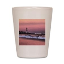 Sunset at the lighthouse Shot Glass