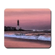 Sunset at the lighthouse Mousepad