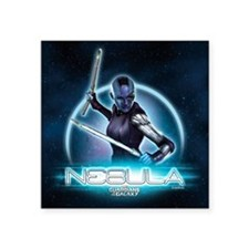 """Nebula Stars Square Sticker 3"""" x 3"""""""