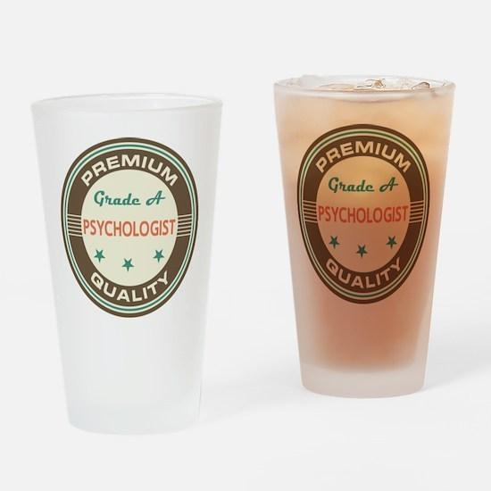 psychologist Vintage Drinking Glass