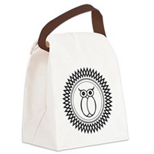 Native American Owl Canvas Lunch Bag