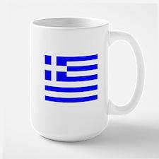 Greece Flag Mugs