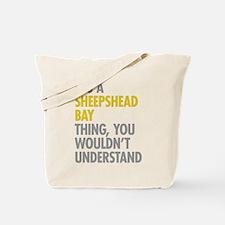 Sheepshead Bay Thing Tote Bag