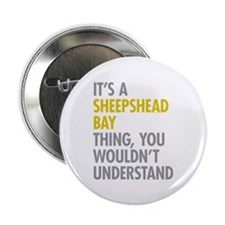 "Sheepshead Bay Thing 2.25"" Button (100 pack)"