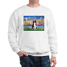 GUARDIAN ANGEL/BORDER COLLIE Sweatshirt