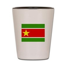 Guadelupe Flag Shot Glass