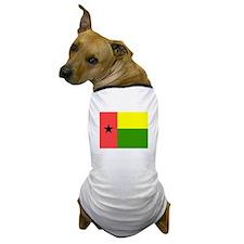 Guinea-Bissau Flag Dog T-Shirt