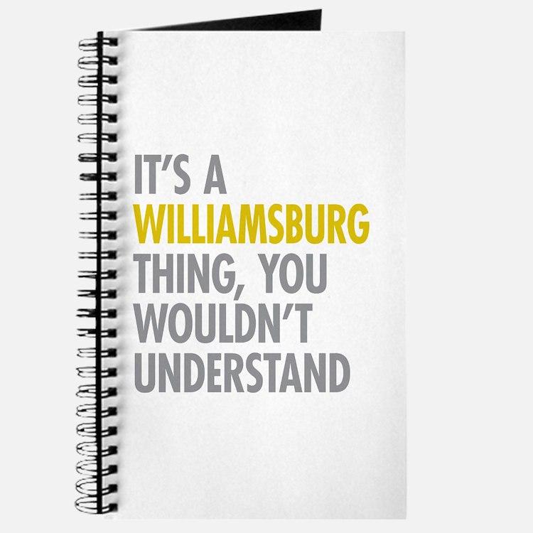 Williamsburg Thing Journal