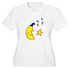 snoozin moon and starz T-Shirt