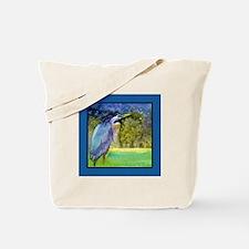 Beautiful Blue Heron Tote Bag