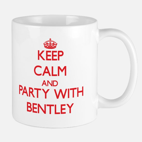 Keep calm and Party with Bentley Mugs