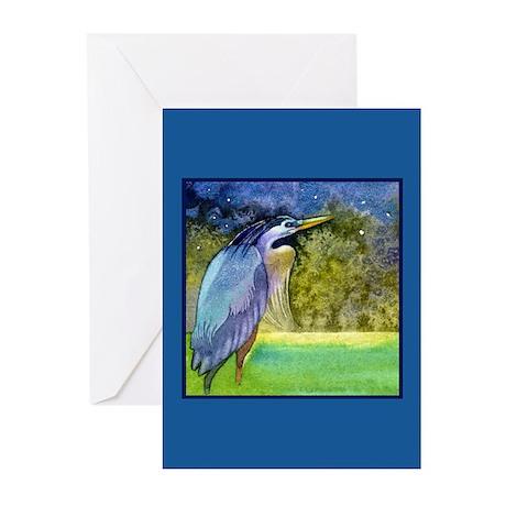 Beautiful Blue Heron Greeting Cards (Pk of 10)