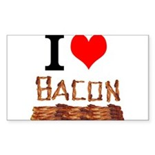 I Love Bacon Decal