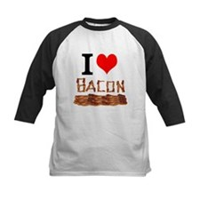 I Love Bacon Baseball Jersey