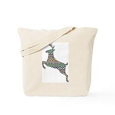 Aztec Buck Tote Bag