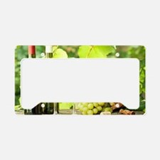 Wine and Grapes License Plate Holder