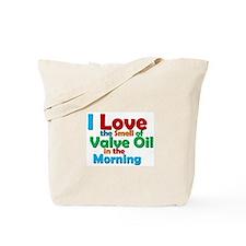 Valve Oil Tote Bag