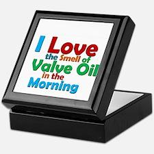 Valve Oil Keepsake Box