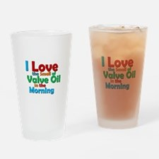 Valve Oil Drinking Glass