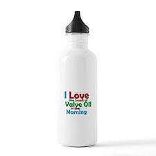 Valve Oil Water Bottle