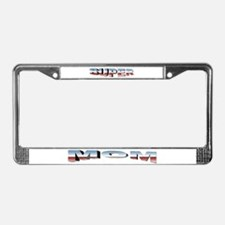 SuperMom License Plate Frame