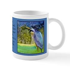 Beautiful Blue Heron Mug
