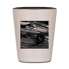 Old School Writers Club 3 Shot Glass