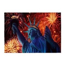 Lady Liberty 5'x7'Area Rug