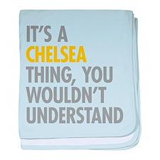 Chelsea Thing baby blanket
