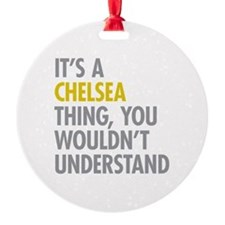 Chelsea Thing Ornament