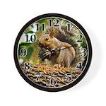 squirrel photo Wall Clock